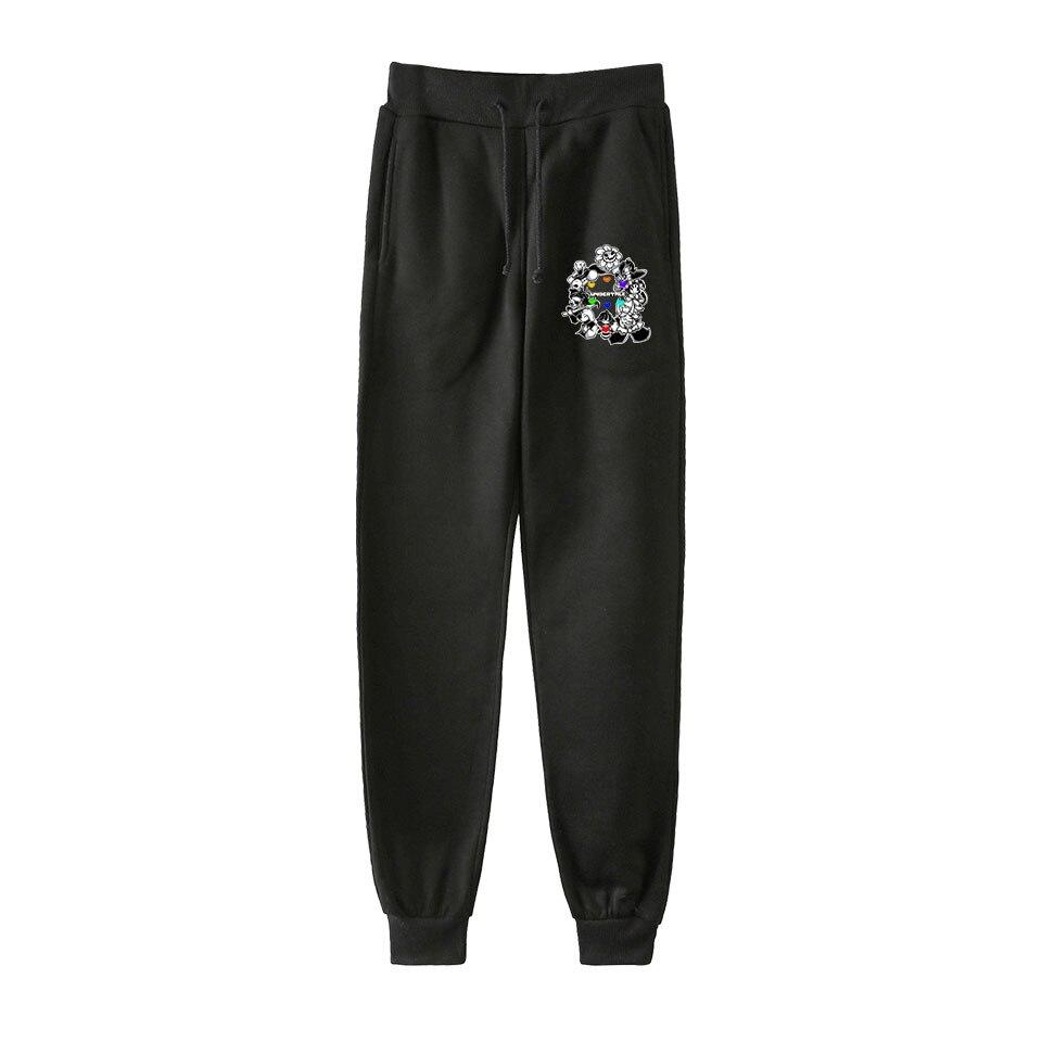 Undertale Men Hip Hop Pants Trousers Kpop Fashion Casual High Quality New Casual Warm Undertale Pants Slim Kpop Pants