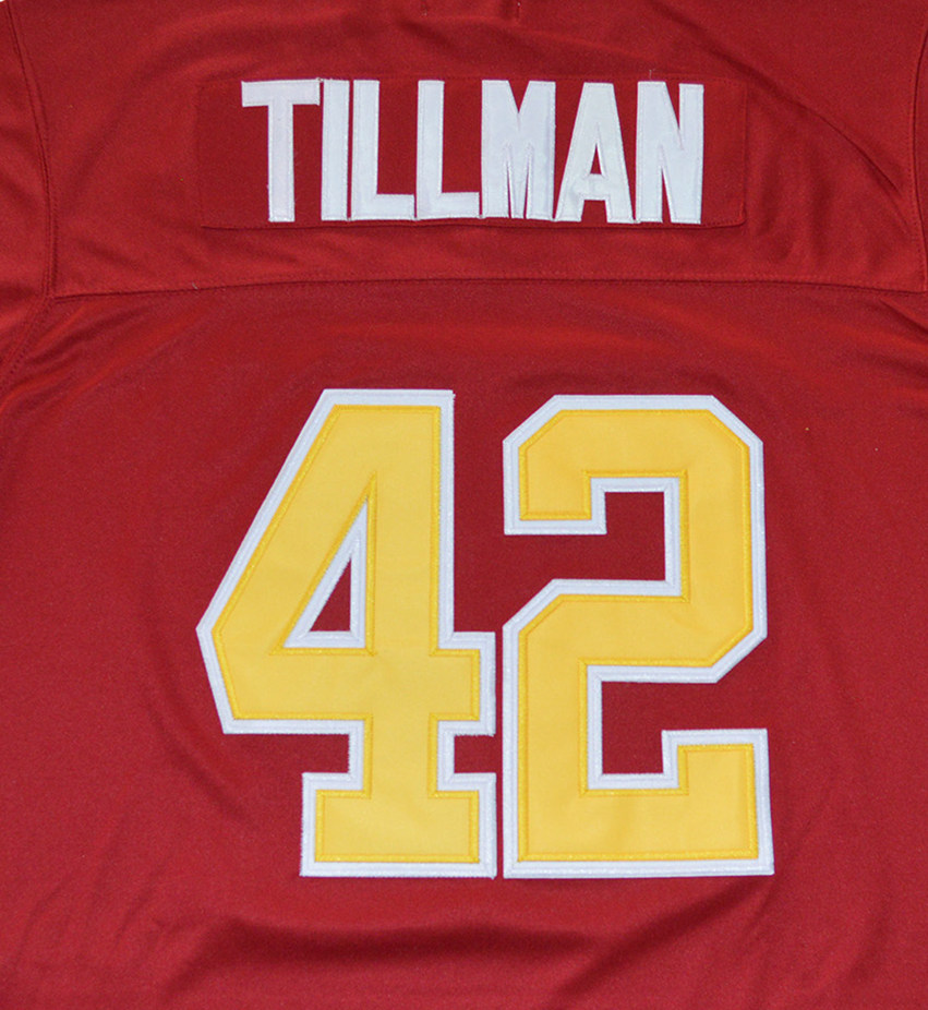 3325fdf57 Aliexpress.com : Buy Arizona State Sun Devils 42 Pat Tillman Pose Bowl Game College  Football Jersey Red from Reliable America Football Jerseys suppliers on ...