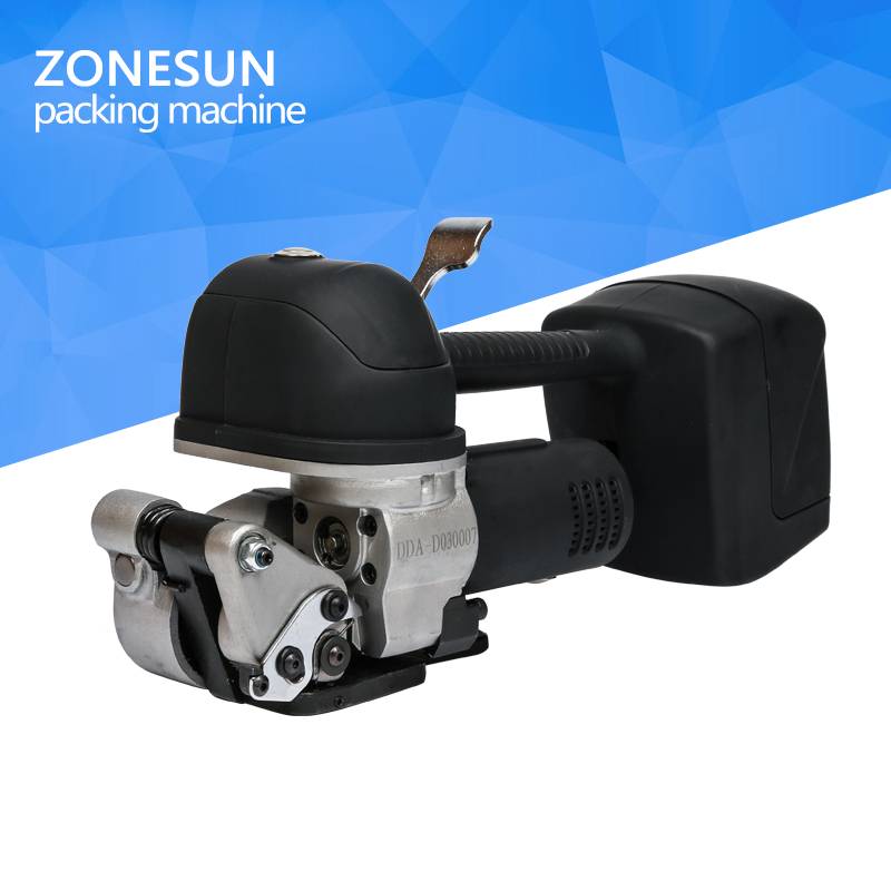 ZONESUN DD 19 Battery Strapping Tools,Battery Powered Strapping Tools,Hand Tools,Sealless Tensioner Sealer Combination клей активатор для ремонта шин done deal dd 0365