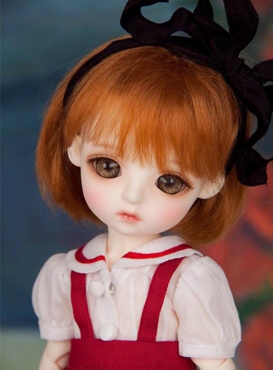 BJD SD doll doll baby girl 6 points birthday gift (free eyes + free make up) цена
