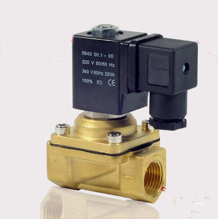 1/2  PU220 Series Air Water Gas Oil Solenoid Valve 3 8 pu220 series air water gas oil solenoid valve
