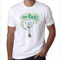 Cool Rick Morty Men T Shirt 2017 Summer Anime T Shirts Rick And Morty Worlds Folk