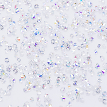 Glass Rhinestones For Shoes And Bags Glitter Crystal Decoration AB 3d Nail S012