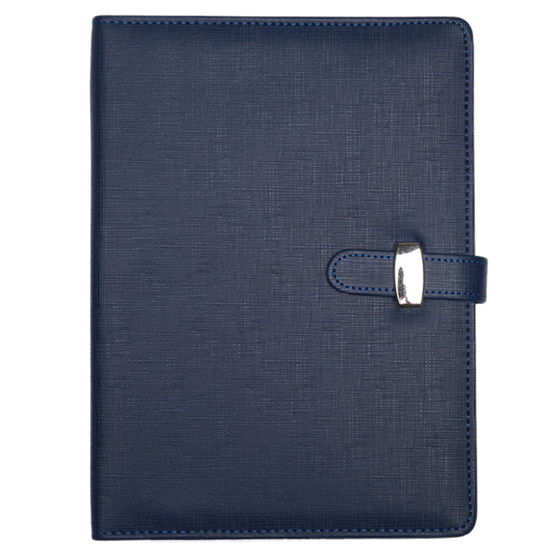 hot-Personal Pocket Organiser Planner Filofax Diary Notebook PU Leather Cover,A5:170 x 235mm Blue modern design a7 personal organiser planner pu leather cover diary notebook school office stationery black