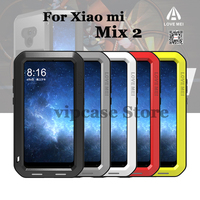 Original LOVE MEI Extreme Metal Aluminum Dirt Waterproof Powerful Case For Xiaomi Mix 2 5 99