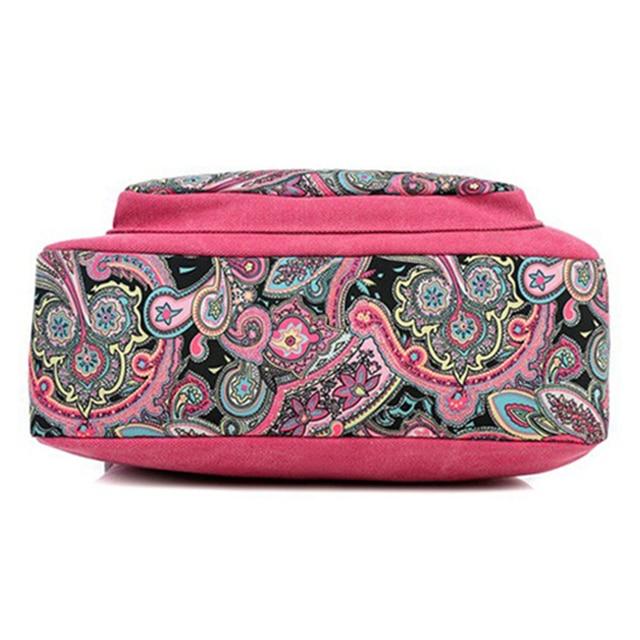 Women's Paisley Print Shoulder Bag 4
