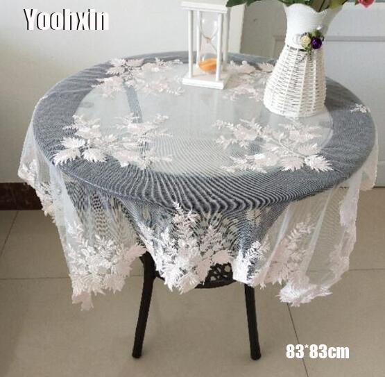 Aliexpress.com : Buy Modern Pink Square Lace Tablecloth