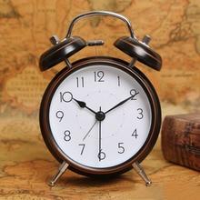 Metal Retro Alarm Clock Minimalist Digital Pow Patrol Watch Mechanism Table Clock Sveglia Digitale Dlectronic Travel Alarm 6NZ09 цена