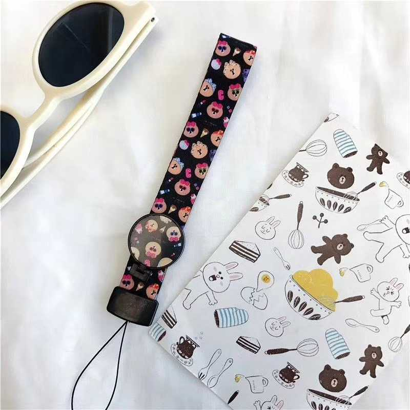 Mobile Phone Strap Rope for Samsung Galaxy S6 S7 edge Plus iphone 5 6 Plus 6s 7 Lanyard for Keys Phone Decoration Bracket