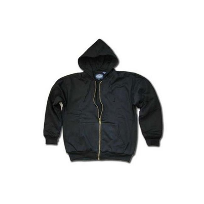 Dutch Harbor Gear SW300-2X Astoria Full Zip Hooded Sweatshirt Navy - 2XL