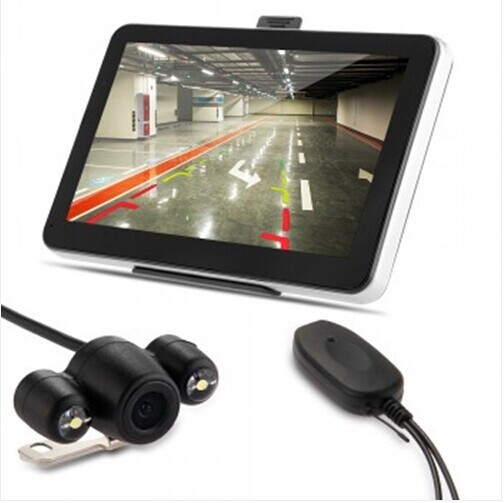 "7 "" GPS Bluetooth AV-IN Wireless cámara reversa mapa"