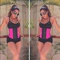 Colección caliente Que Adelgaza Shapers Cintura Formación Corsés de Underbust 4 Colores Mujeres Bustier Corsé Ganchos Reducir Cinturón Fajas Fajas