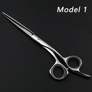"Image 5 - Hair scissors 5.5""/6""/6.5"" Professional Hairdressing Scissors set Beauty Salon Cutting Barbers Shears Silver/Black"
