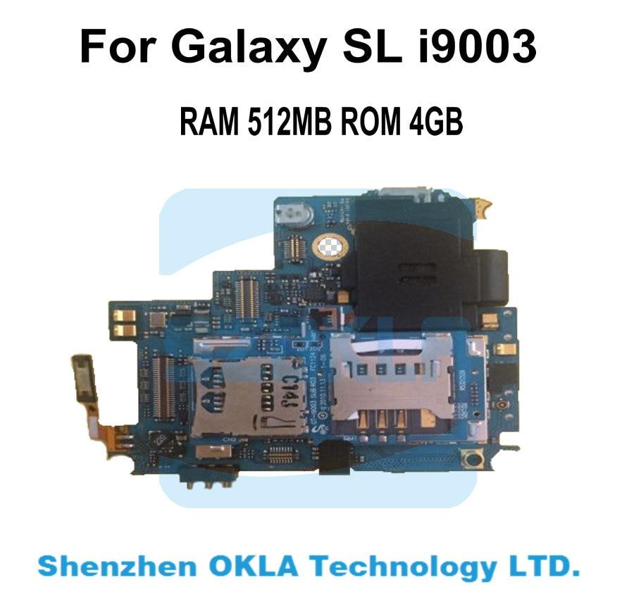 imágenes para Con altavoces de sonido utiliza placa base de teléfono original para samsung galaxy sl i9003 reemplazo placa madre placa principal