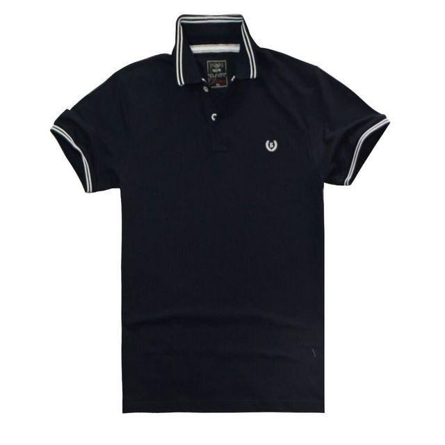 Summer clothing New Men Polo Shirt Men Fashion& Casual Solid male polo shirt Short Sleeve breathable polo shirt 6 color 9620