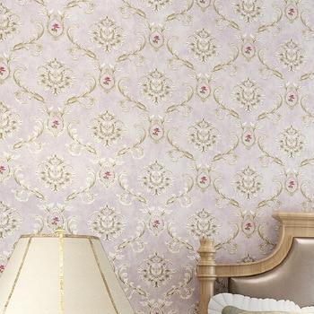 beibehang American Pastoral Retro Wallpapers European Style Flowers Elegant Wallpaper Nonwovens 3D Backdrop Walls