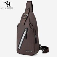 ARCTIC HUNTER Casual Fashion Messenger Crossbody Bags For Men Chest Bag Upgrade Design Shoulder Back Pack Ipad Mini Bags