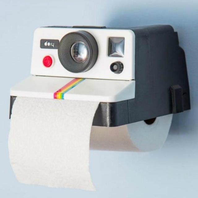 Badezimmer Toilettenpapierhalter Kamera Tissue Box Retro Home Karton ...