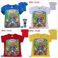 Crianças 2017 meninos Verão trem Dos Desenhos Animados Dos meninos T Shirt Tops T thomas e amigos das crianças das crianças camiseta meninos moda roupas crianças