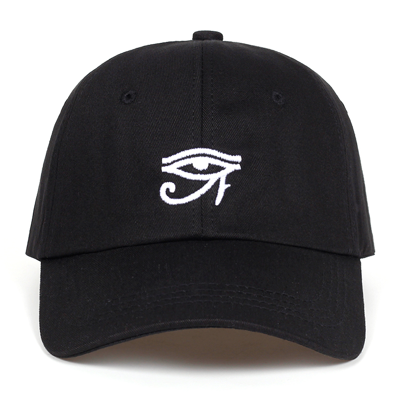 2018 new Eye of Ra Custom Unstructured Dad Hat fashion men women golf   Cap     baseball     cap   Adjustable Hip-hop snapback   cap   hats
