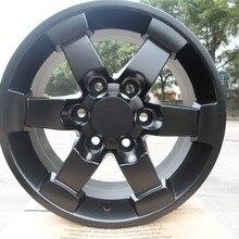 Четыре части 16x. 8,0 et 15 6x139,7 OEM сатин черный сплав колесные диски W224