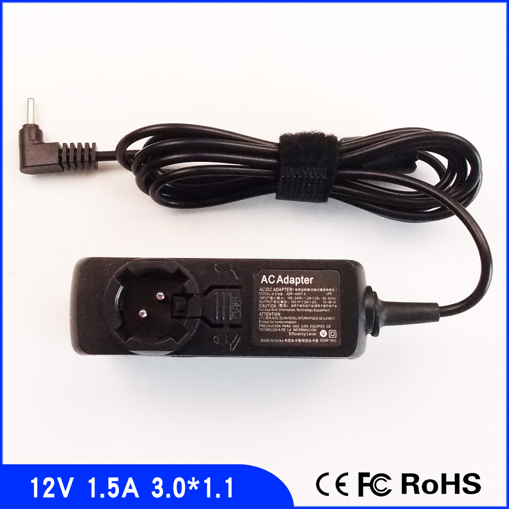 Tablet Ac Adapter Charger For Acer Iconia Tab W3-810 W3-810p A501-10S32U
