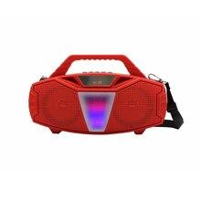 Hifi портативный bluetooth динамик сабвуфер с микрофоном супер бас колонки открытый динамик