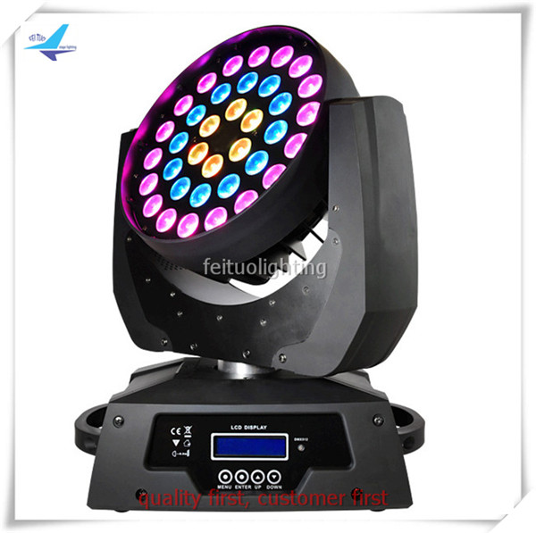 Best Selling Led Lights 36x18 6in1 Wash Moving Head Lyre Led Zoom Moving Head 20/31 Channels Dmx Stage Disco Dj Show Lighting