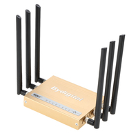300Mbps Wireless Long Range Wi Fi Gigabit Router High Power 6 5dBi External Antennas Support 802