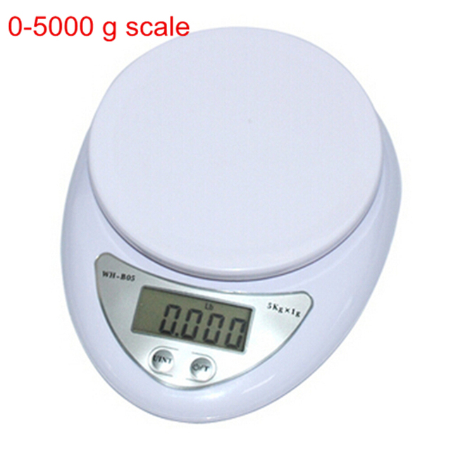 accurate digital scale 5kg 1g household kitchen cooking food diet