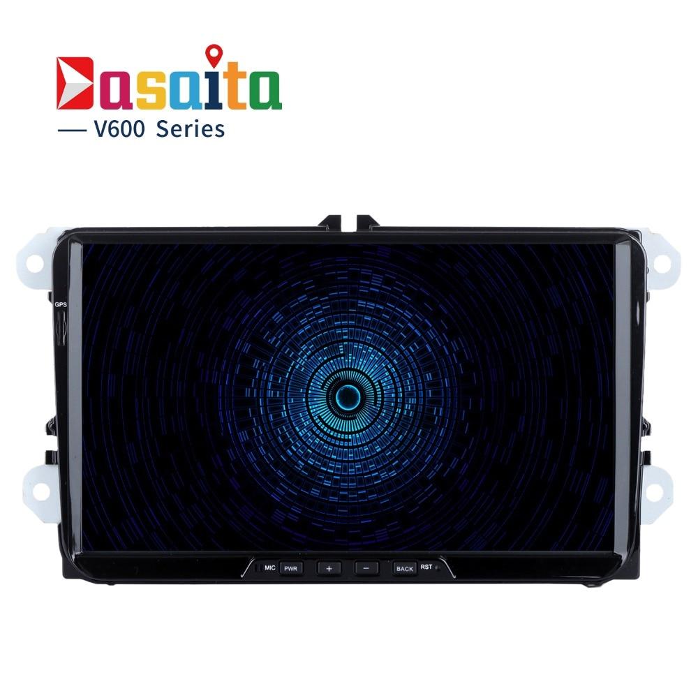 Dasaita 9 Android 6 0 Car GPS Player for Seat Leon Alhambra Altea Toledo with Octa