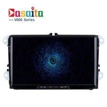"""Dasaita 9 """"Seat Leon Altea Alhambra için Android 6.0 Araba GPS Oynatıcı Octa Çekirdek 2 GB Ram ile Toledo Oto Radyo Multimedya GPS NAVI"""