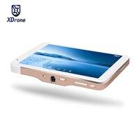 2017 China Portátil Inteligente Android 5.1 Tablet PC Proyector DLP 50 Lúmenes Quad Core RK3288 8