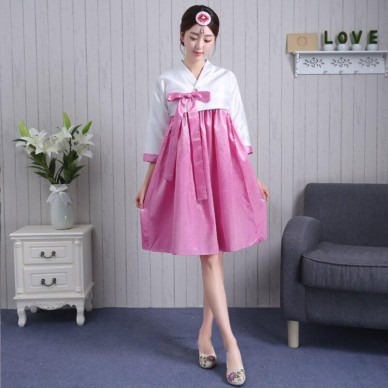 Encantador Vestido De Novia Hanbok Coreano Ideas Ornamento ...