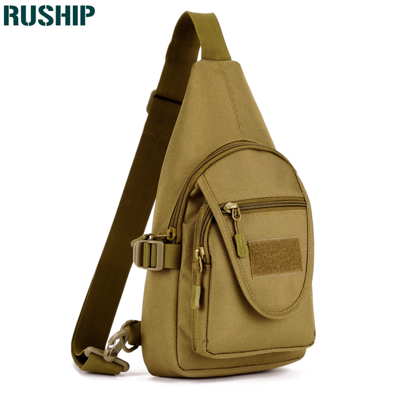 Women Messenger Bag Outdoor Travel Sport Nylon Military Chest Pack Cross Body Sling Single Shoulder Men Tactical Chest Bag Camping & Hiking Climbing Bags