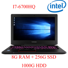 """P6-07 8G DDR4 RAM 256G SSD 1000G HDD i7 6700HQ AMD Radeon RX560 NVIDIA GeForce GTX 1060 4GB 15.6 gaming laptop"""""""