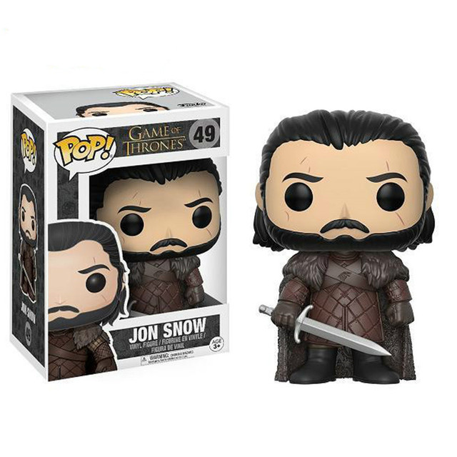 Funko pop Song Of Ice And Fire Game Of Thrones Characters Vinyl Action & Toy Figures Collectible Model Toy for Children 1