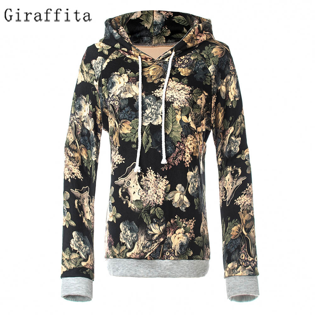 Autumn Winter Fashion Men/women Hoodies With Cap Print Flowers 3d Hooded Sweatshirts Hoody Tracksuit