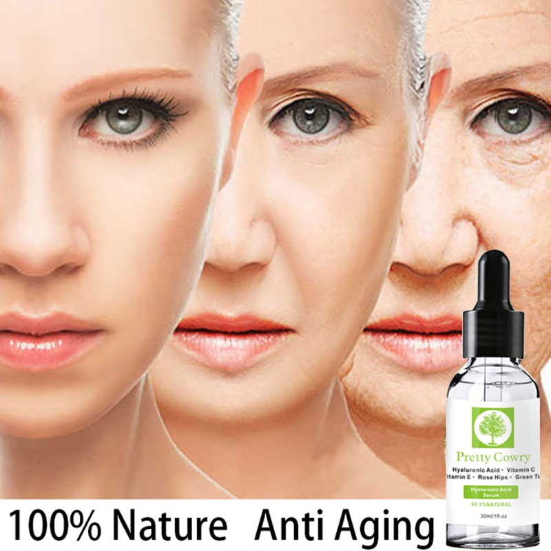 Vitamin C Essence Hyaluronic Acid Essence Reduces Melanin Repair Damaged Skin Advanced Anti-Aging Moisturizing Whitening