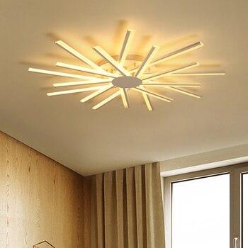 Современные светодиодные потолочные лампы для творчества, для гостиной, спальни, домашнего освещения