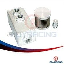PQY-UNIVERSAL TIENDA-2L Aluminio del retén del aceite del tanque con respirador y grifo de desagüe 2LT desconcertado PQY9492