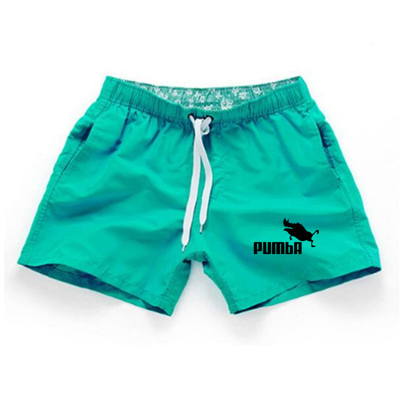 Shorts Mens Bermuda 2018 Summer Beach Men Shorts Pumba Letter Print Male Brand Men'S Short Casual Fitness Jogger Plus Size 3XL