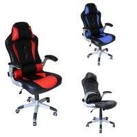 Высота 128 118 см офисные стулья регулируемые 10 см гоночное кресло игровой компьютерный стул искусственная кожа внутренняя мебель черный крас