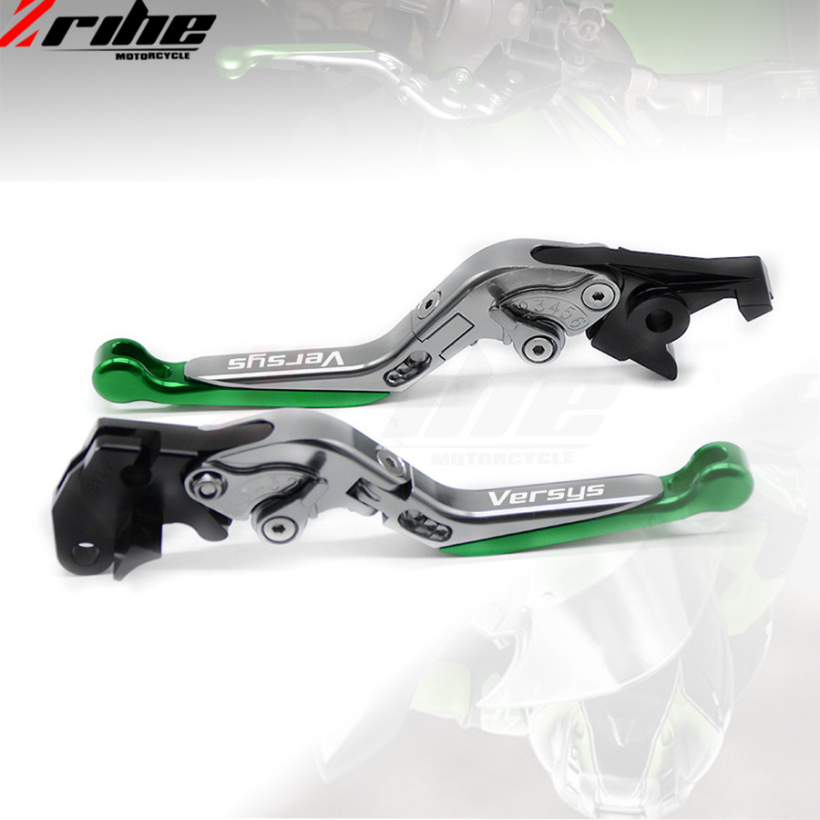 motorcycle brake clutch levers Folding Extendable Adjustable CNC Aluminum Brakes Clutch Levers For Kawasaki VERSYS 1000	15-2016 for ducati multistrada 1200 dvt 2015 motorcycle accessories cnc billet aluminum folding extendable brake clutch levers
