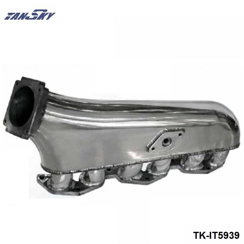 TANSKY -  Engine Swap Turbo Intake Manifold For TOYOTA 1JZ High Performance Polished TK-IT5939 tansky engine swap turbo intake manifold for nissan sr20 s13 high performance tk it5930s