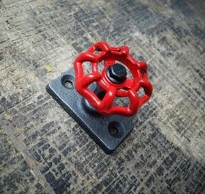 Image 3 - 4ピース/セット7 × 5 × 5センチ工業レトロ蒸気弁フック