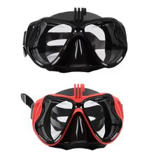 Liquid Silicone Goggles Swimming Glasses Waterproof Leakproof Comfortable Fit Snorkeling Mirror with Camera Placement Device