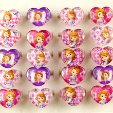 Wholesale Jewelry Lots 50pcs Cute Lovely Princess Sofia Chil