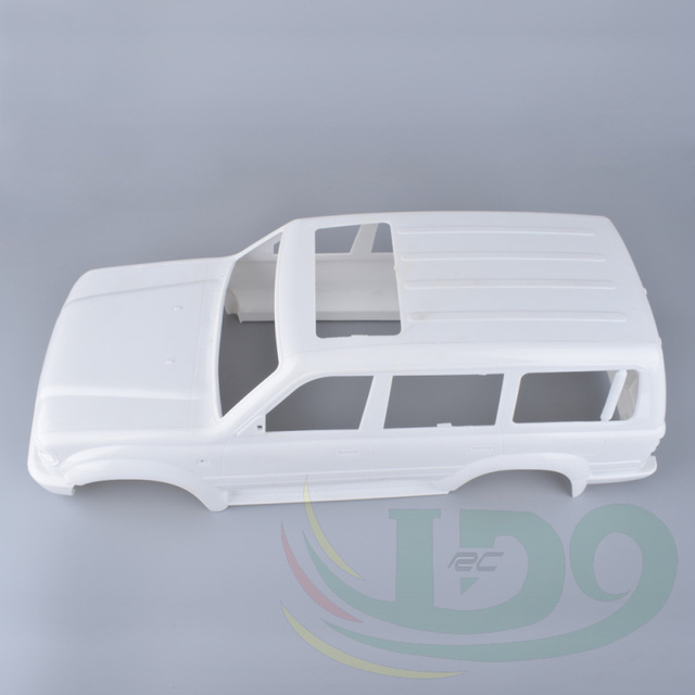 New crawler chassis  Land Curiser LC80 White Colors Hard Bodies Body For Rc Crawler Sale AXIAL SCX10 Wheelbase 313mm