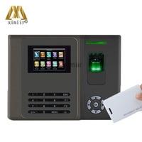 XM210 Biométrico Do Comparecimento Do Tempo da Impressão Digital Leitor de Cartão RFID Time Clock TCP Dedo Porta Sistema de Controle de Acesso Com|door access control system|access control system|control system -